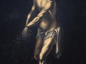 Monasterio de canónigas de San Agustín. Pintura. Cristo atado a la columna