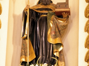 Monasterio de canónigas de San Agustín. Escultura. San Agustín