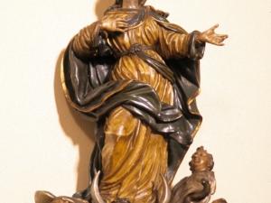 Monasterio de canónigas de San Agustín. Escultura. Inmaculada Concepción