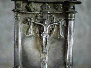 Iglesia parroquial de Nuestra Señora de la Asunción. Portapaz