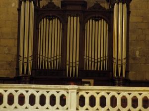 Iglesia parroquial de Nuestra Señora del Juncal. Órgano