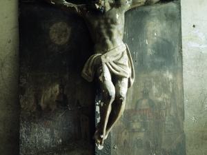 Iglesia parroquial de Nuestra Señora de la Asunción. Escultura. Cristo Crucificado