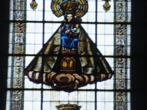 Iglesia parroquial de Santa María. Vidrieras