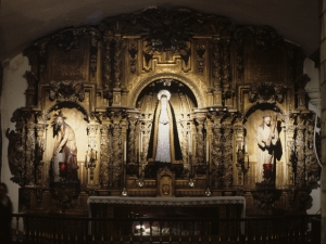 Iglesia parroquial de Santa María. Retablo de la Dolorosa
