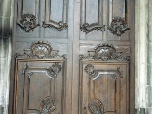 Iglesia parroquial de Santa María. Puerta