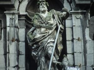 Iglesia parroquial de Santa María. Escultura. San Juan Bautista