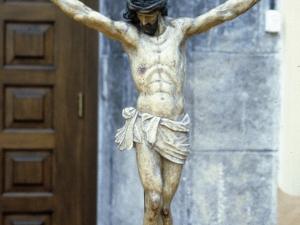 Iglesia parroquial de Santa María. Escultura. Cristo Crucificado