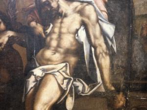 Iglesia parroquial de Santa María. Pintura. Descendimiento