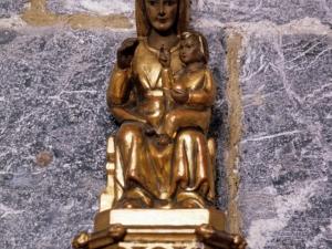 Iglesia parroquial de Santa María. Escultura. Andra Mari