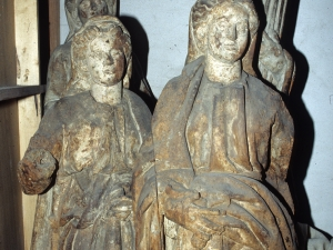Iglesia parroquial de Santa María. Escultura. Virtudes