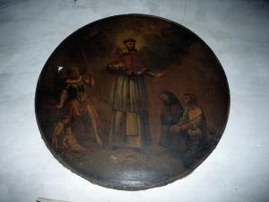 Iglesia parroquial de Santa María. Pintura. San Ramón nonato
