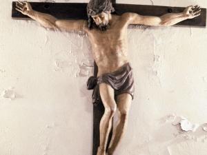 Iglesia parroquial de San Pedro de Urkizu. Escultura. Cristo Crucificado