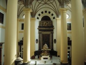 Iglesia de Santa María. Interior