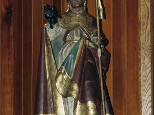 Iglesia parroquial de San Martín de Tours. Escultura. San Martín de Tours