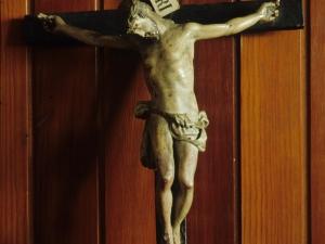 Iglesia parroquial de San Martín de Tours. Escultura. Cristo Crucificado