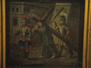Iglesia parroquial de San Martín de Tours. Pintura. Vía crucis