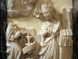 Ermita de Nuestra Señora del Socorro. Anunciación. Relieve