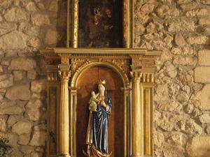 Ermita de San Esteban de Urdaiaga. Retablo de Andra Mari