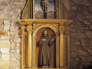 Ermita de San Esteban de Urdaiaga. Retablo de San Francisco