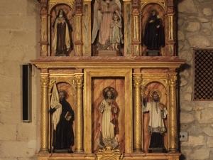Ermita de San Esteban de Urdaiaga. Retablo del Sagrado Corazón de Jesús