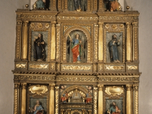 Iglesia parroquial de Santa Fe. Retablo de Santa fe