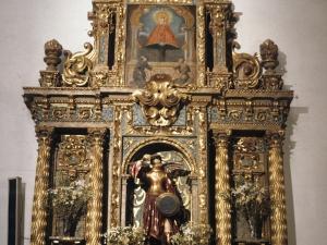 Iglesia parroquial de Santa Fe. Retablo de un Arcángel