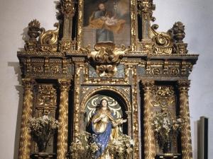 Iglesia parroquial de Santa Fe. Retablo de la Inmaculada Concepción