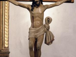 Iglesia parroquial de Santa Fe. Escultura. Cristo Crucificado