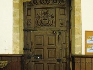 Iglesia parroquial de Santa Fe. Puerta