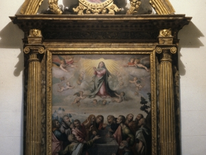 Iglesia parroquial de Santa Fe. Retablo de Nuestra Señora de la Asunción
