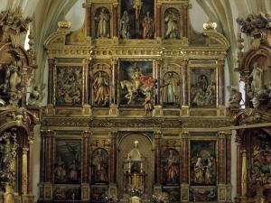 Iglesia parroquial de San Martín de Tours. Retablo de San Martín de Tours