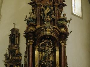 Iglesia parroquial de San Martín de Tours. Retablo de la Virgen del Rosario