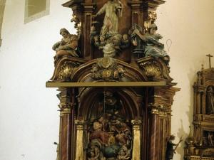 Iglesia parroquial de San Martín de Tours. Retablo de las Ánimas