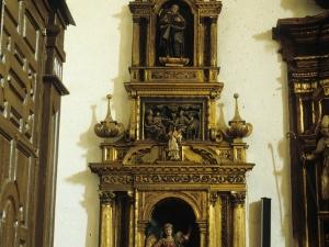 Iglesia parroquial de San Martín de Tours. Retablo del Ángel de la Guarda