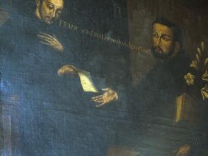 Iglesia parroquial de San Martín de Tours. Pintura. San Francisco Javier y San Ignacio de Loyola