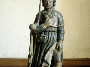 Iglesia parroquial de San Martín de Tours. Escultura. San Roque