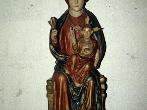 Ermita de Andra Mari de Otzaurte. Escultura. Andra Mari