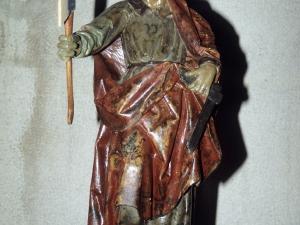 Ermita de Andra Mari de Otzaurte. Escultura. San Adrián