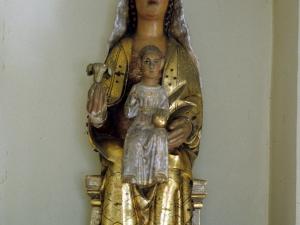 Ermita de Iruetxeta. Escultura. Andra Mari