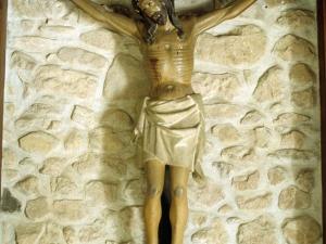 Ermita de Santa Cruz. Escultura. Cristo Crucificado