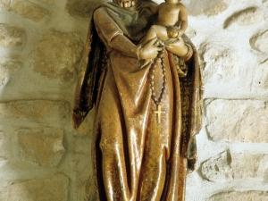 Ermita de Santa Cruz. Escultura. Virgen del Rosario