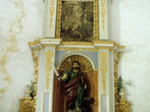 Ermita de San Bartolomé. Retablo de San Bartolomé