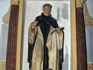 Ermita de San Bartolomé. Retablo de Santo Domingo