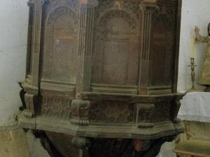 Ermita de San Bartolomé. Púlpito