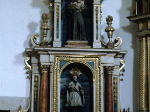 Iglesia parroquial de Nuestra Señora de la Asunción. Retablo de San Luis Gonzaga