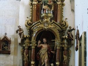 Iglesia parroquial de Nuestra Señora de la Asunción. Retablo de San Juan Bautista