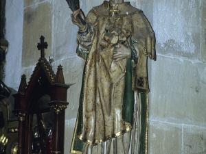 Iglesia parroquial de Nuestra Señora de la Asunción. Escultura. San Esteban