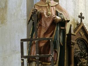 Iglesia parroquial de Nuestra Señora de la Asunción. Escultura. San Lorenzo