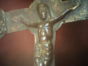 Iglesia parroquial de Nuestra Señora de la Asunción. Escultura. Cristo de Zerain