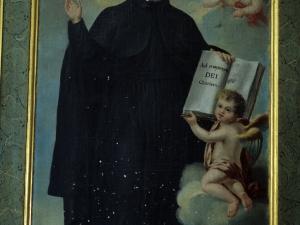 Iglesia parroquial de Nuestra Señora de la Asunción. Pintura. San Ignacio de Loyola